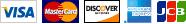 PayPal : VISA / Master / DISCOVER / Amex / JCB